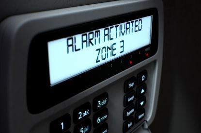 alarm display panel